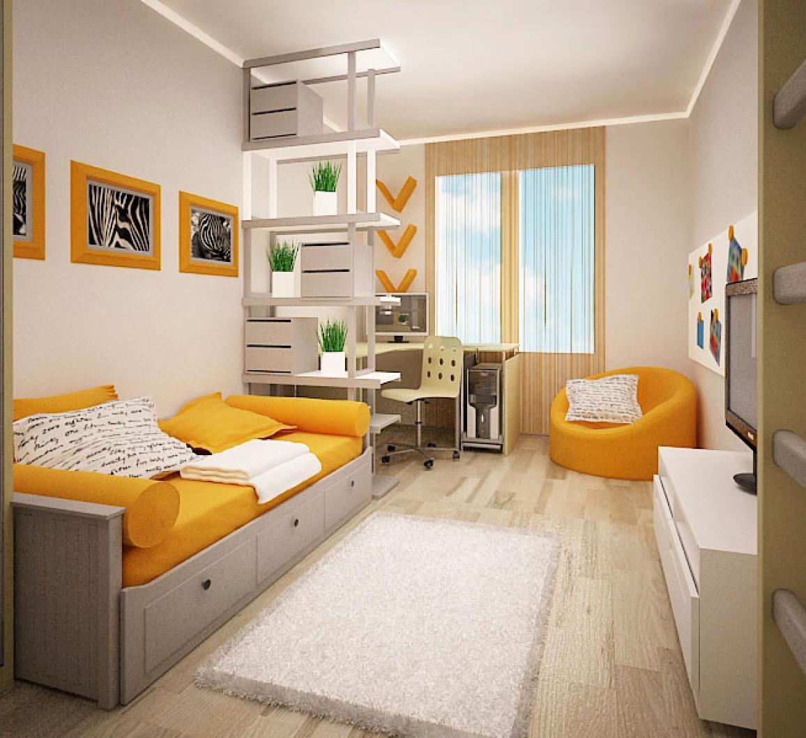 Детская комната для первоклассника дизайн